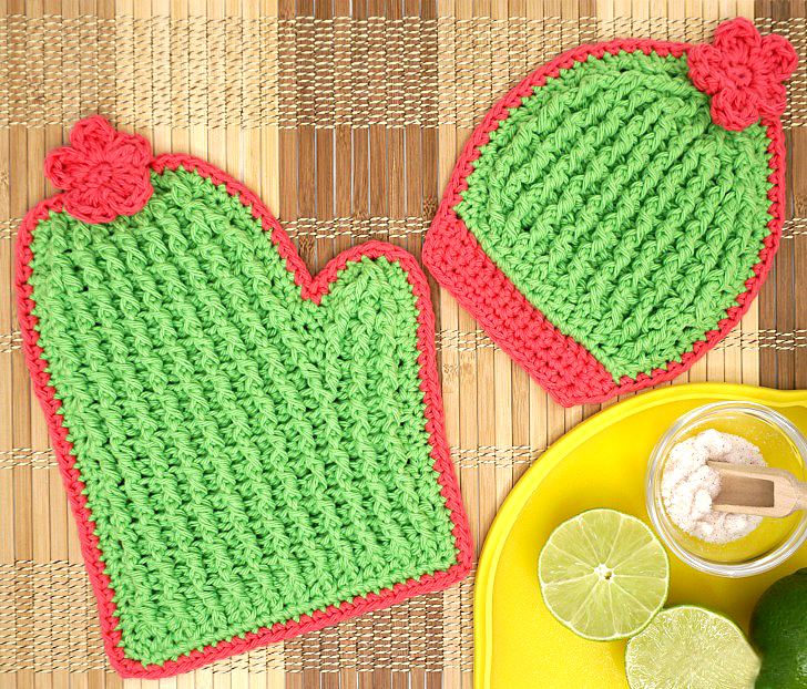 Crochet Cactus Potholders