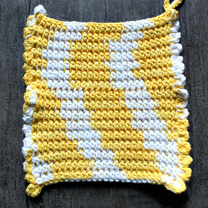 My Favorite Crochet Potholder