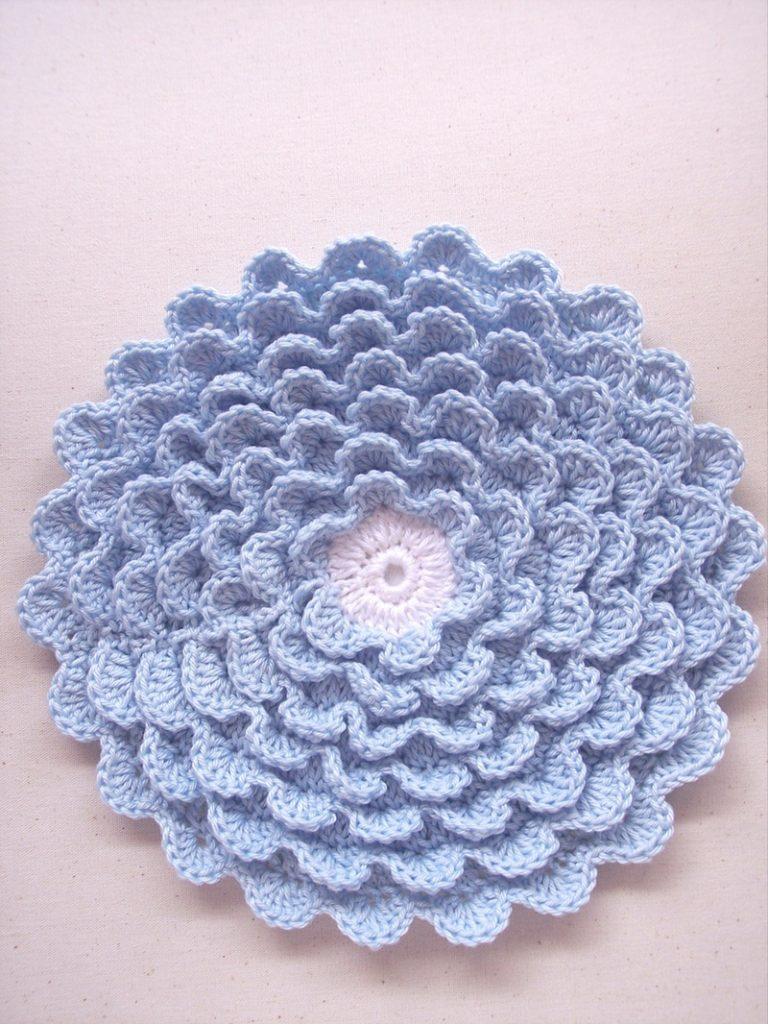 (Not Your) Mum's Crochet Hotpad