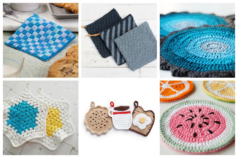 Hot Dish Mat Set – Three-In-One Crochet Pattern