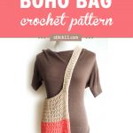 Colour Block Boho Bag Crochet Pattern