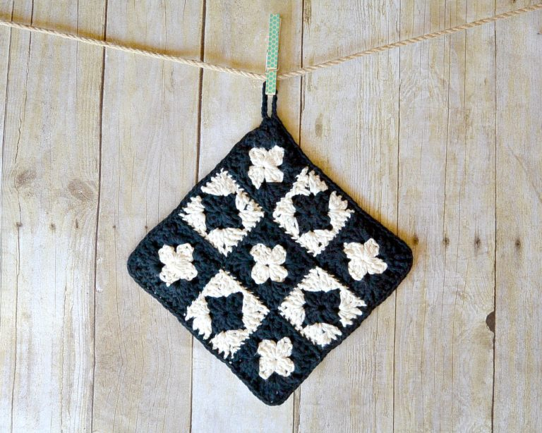 Vintage Inspired Crochet Potholder