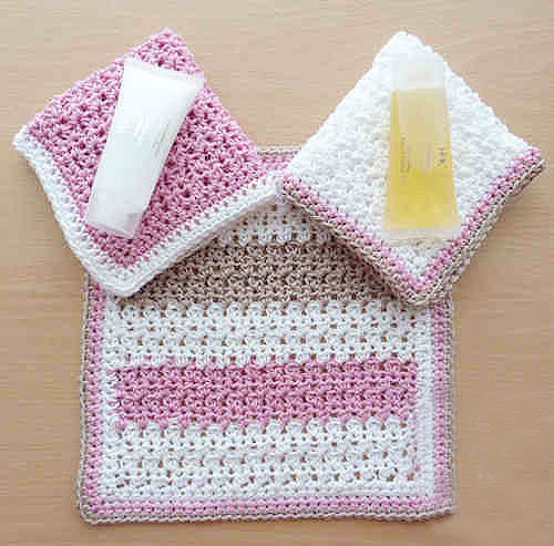 Bathroom Crochet Washcloth