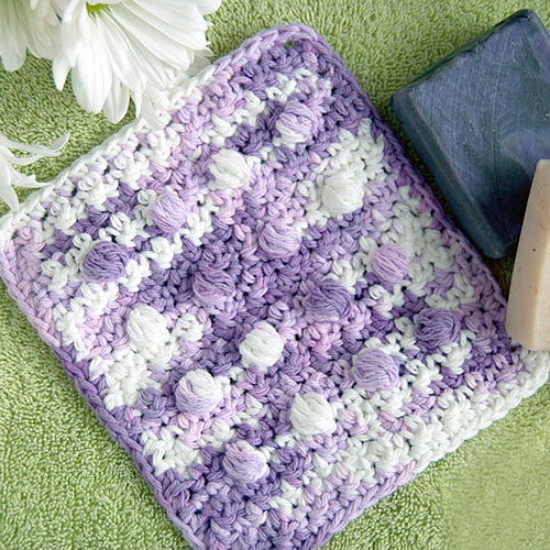 Pampering Massage Crochet Washcloth