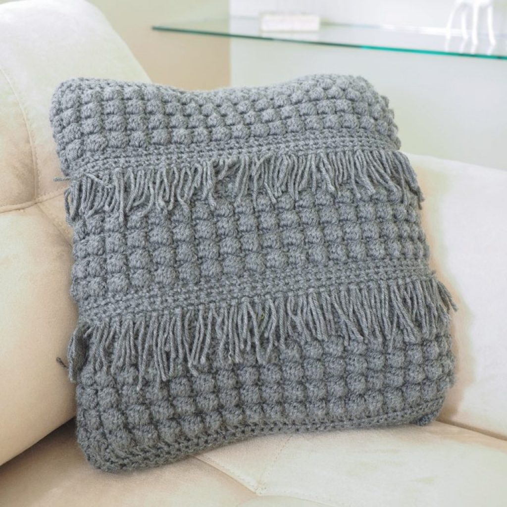 Crochet Textured Cushion Pattern
