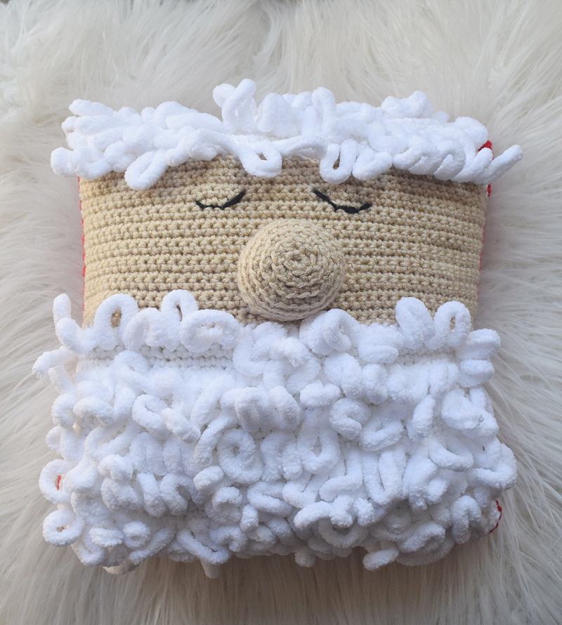 Sleepy Santa Pillow