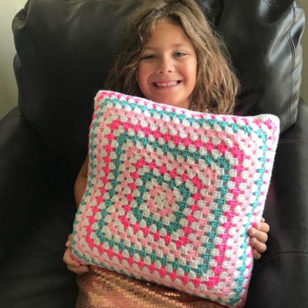Up-Cycled T-Shirt Pillow
