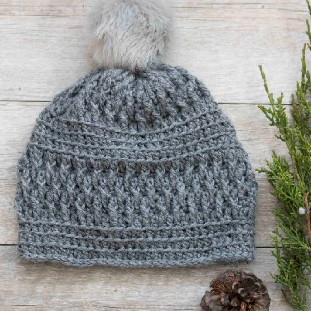 a8a2f7c3e79 Alpaca Squishy Pom Beanie - If you re looking for a crochet hat pattern that
