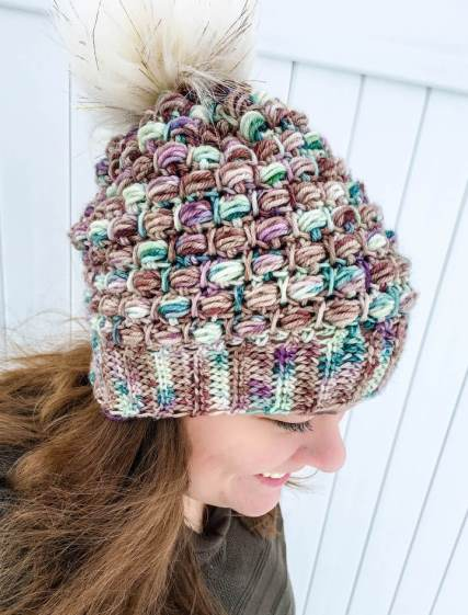 Fairytale Slouchy Hat - If you're looking for a crochet hat pattern that suits your needs and looks great on everyone, the crochet slouchy hat is perfect for you. #crochethatpattern #crochetslouchyhat #crochetpattern #crochetslouchbeanie