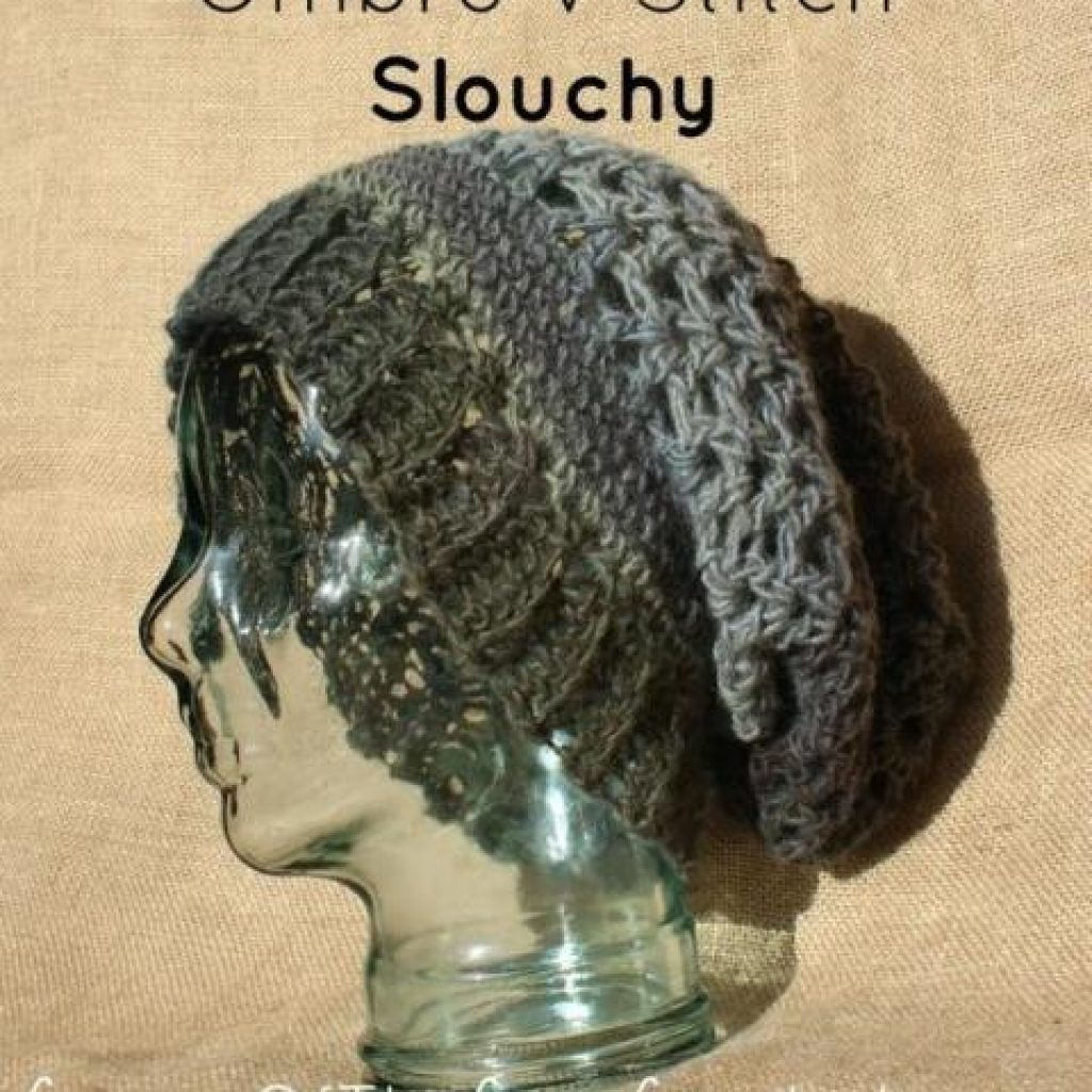 Jasmine Slouch Hat - If you're looking for a crochet hat pattern that suits your needs and looks great on everyone, the crochet slouchy hat is perfect for you. #crochethatpattern #crochetslouchyhat #crochetpattern #crochetslouchbeanie