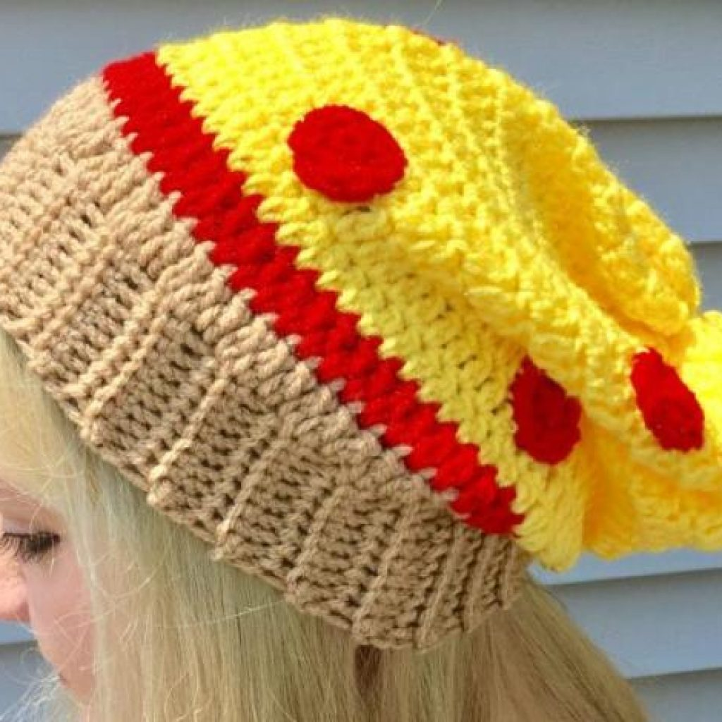 8703bbb637b Pizza Slouchy Hat - If you re looking for a crochet hat pattern that suits