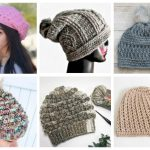 If you're looking for a crochet hat pattern that suits your needs and looks great on everyone, the slouch beanie is perfect for you. #crochethatpattern #crochetslouchyhat #crochetpattern #crochetslouchbeanie