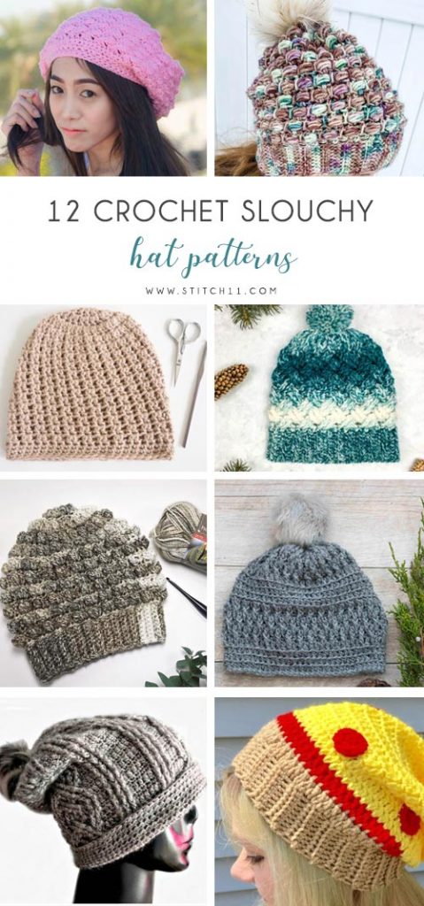 adfb6b56478 If you re looking for a crochet hat pattern that suits your needs and  looks. Everyone could use a good slouch ...