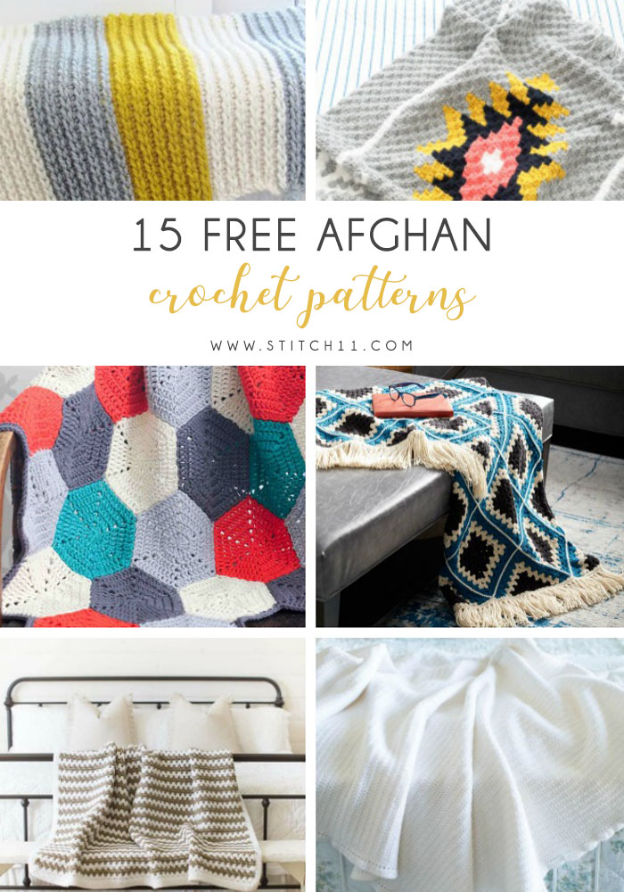 15 Free Afghan Crochet Patterns Stitch11