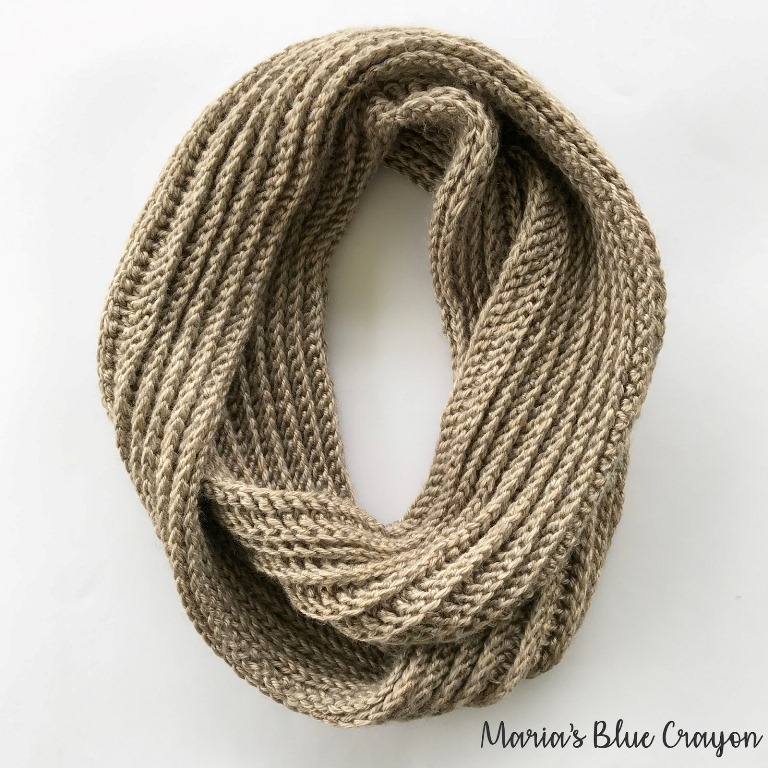 Aspen Infinity Scarf - If you're just learning how to crochet, a crochet infinity scarf will be your best friend. Take advantage of this and make one for the people you love. #CrochetInfinityScarf #ScarfCrochetPatterns #CrochetPatterns