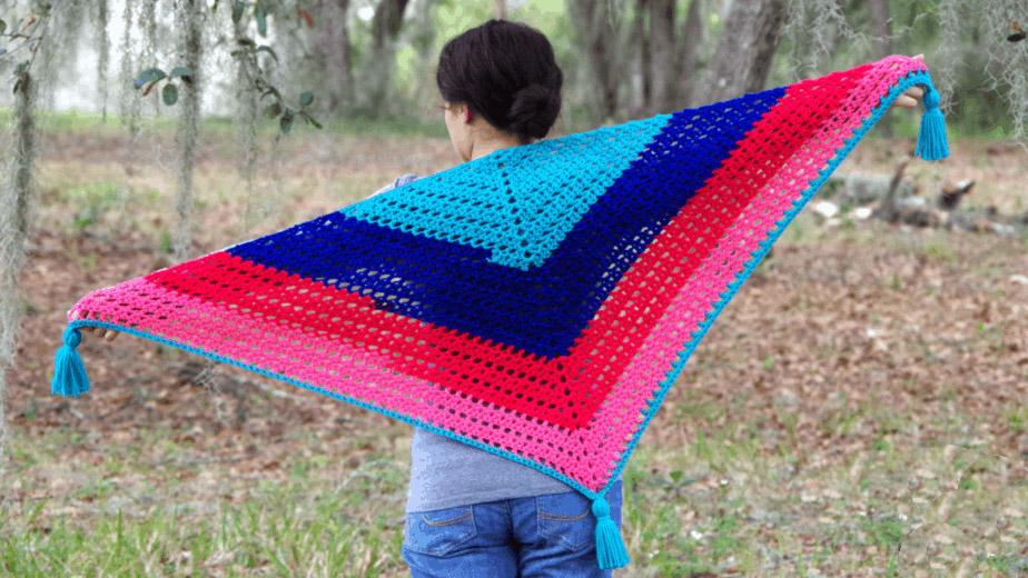 17 Easy Crochet Shawl Patterns - Stitch11