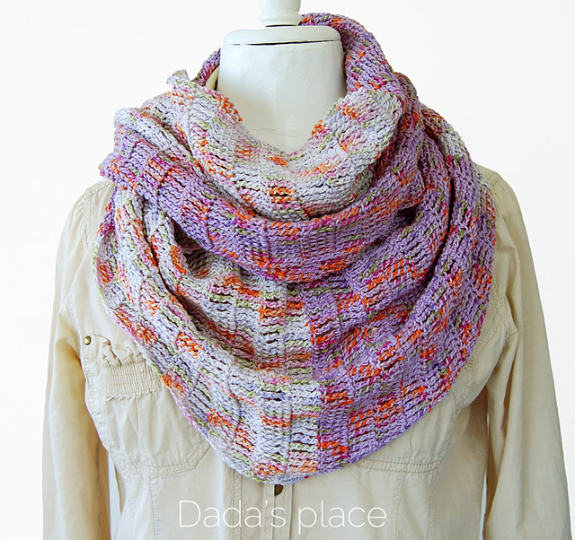 Enjoy the Silence Shawl - These free crochet shawl patterns are easy to make and really fun. Shawls and wraps can be worn in any season and make fabulous gifts. #CrochetShawl  #CrochetShawlPatterns #FreeCrochetPatterns