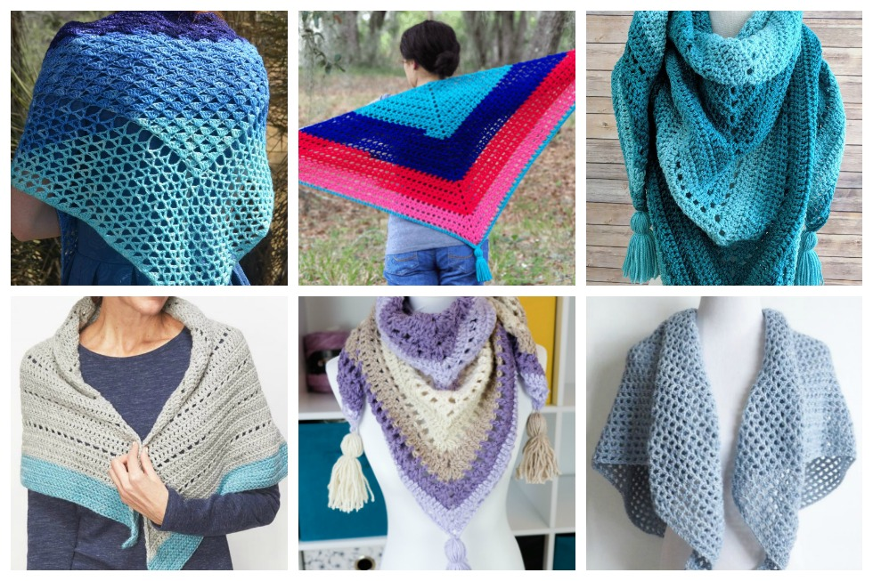 S11 Header 17 Easy Crochet Shawl Patterns Stitch11