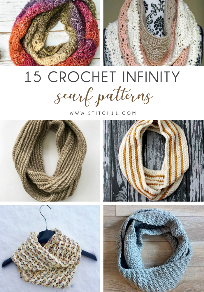 15 Crochet Infinity Scarf Patterns Stitch11