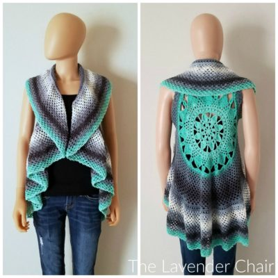 Dreamcatcher Mandala Circular Vest - There's nothing quite like a crochet mandala. These all free crochet patterns are fun and useful for many different purposes. #CrochetMandala #FreeCrochetPattern #CrochetMandalaPattern
