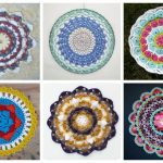 There's nothing quite like a crochet mandala. These all free crochet patterns are fun and useful for many different purposes. #CrochetMandala #FreeCrochetPattern #CrochetMandalaPattern