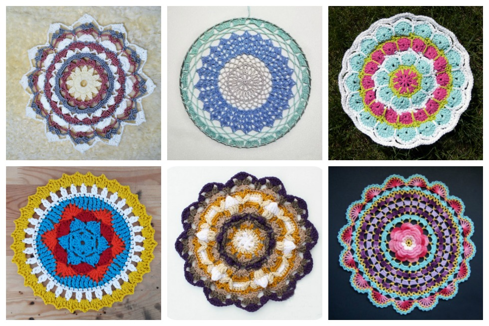 17 Crochet Mandala Patterns Stitch11