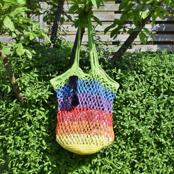 Beach Bag - Are you ready for the best crochet bag patterns out there? This list has 18 fun summer bags and they're all free crochet patterns! #CrochetBagPatterns #EasyBagPatterns #FreeCrochetPatterns