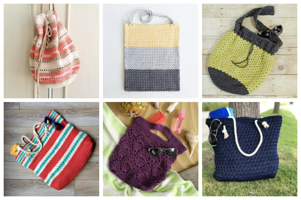 18 Fun Easy Crochet Bag Patterns For Summer Stitch11