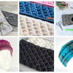 22 Cute Crochet Ear Warmers for Fall - Check out these cute, versatile and functional crochet ear warmer patterns and get started on your stock before the cold sets in! #crochetearwarmerpatterns #crochetearwarmers #crochetpatterns