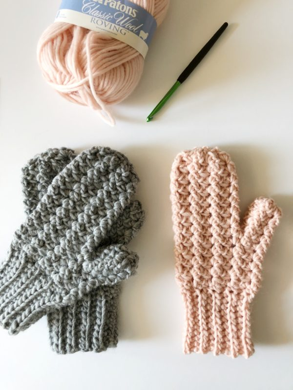Sprig Stitch Mittens - These crochet mitten patterns will warm your hands up and keep them ready for use throughout the season. #crochetmittenpatterns #crochetpatterns #freecrochetpatterns