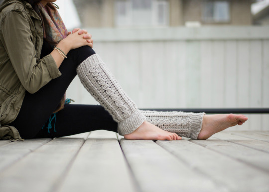 Cabled Leg Warmers - These 19 crochet leg warmers are just some of the comfiest ones we can find that you can do in a jiff! #crochetlegwarmers #crochetpatterns #freecrochetpatterns