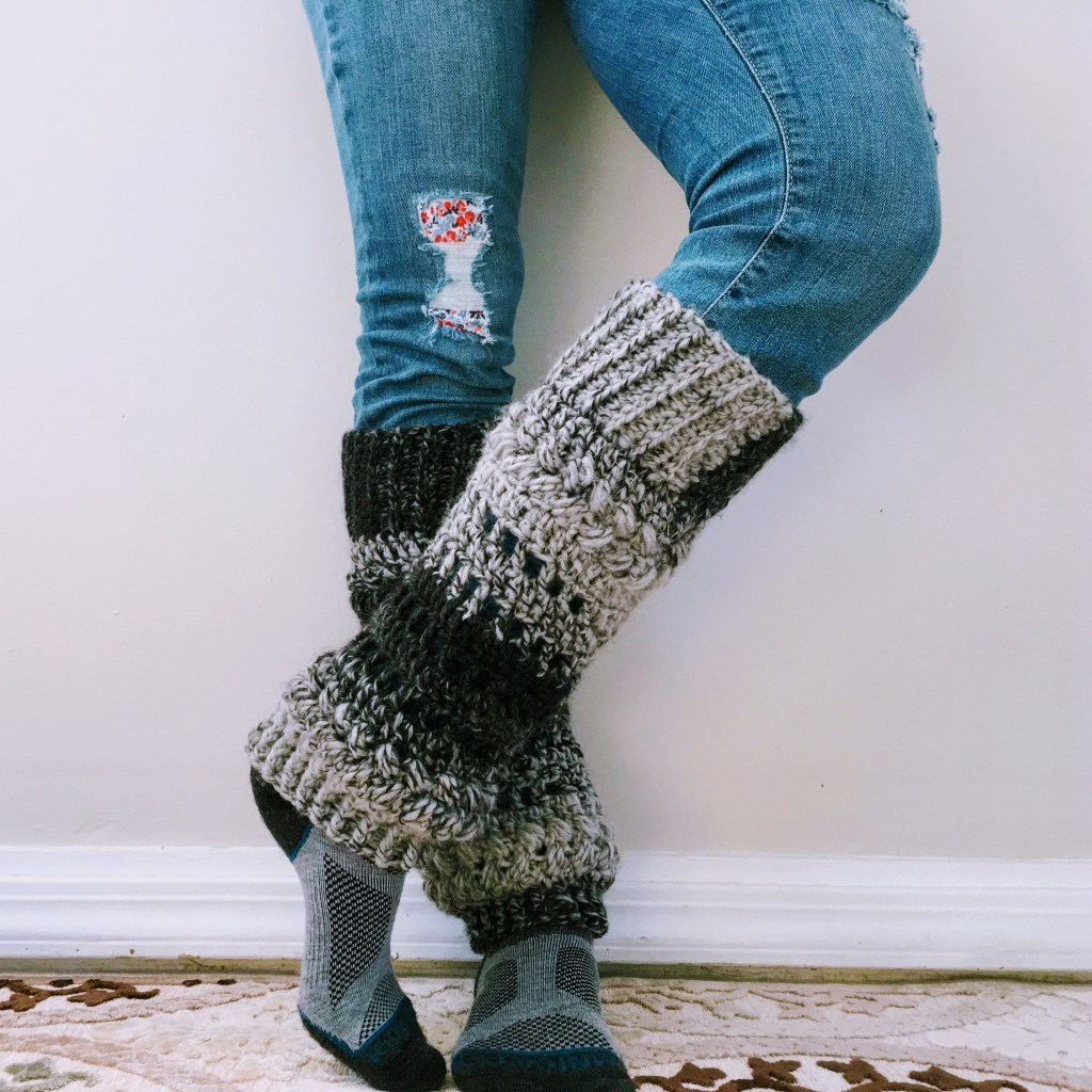 Luminous Leg Warmers - These 19 crochet leg warmers are just some of the comfiest ones we can find that you can do in a jiff! #crochetlegwarmers #crochetpatterns #freecrochetpatterns