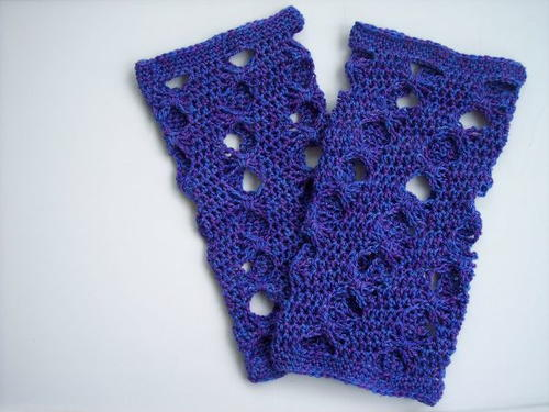 Purple Butterfly Crochet Leg Warmers - These 19 crochet leg warmers are just some of the comfiest ones we can find that you can do in a jiff! #crochetlegwarmers #crochetpatterns #freecrochetpatterns