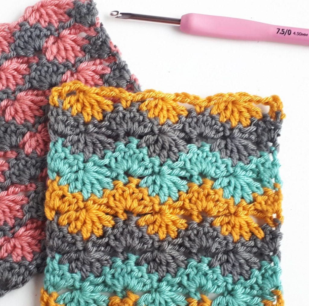 Feather Stitch - These 20 unique crochet stitches may challenge you or even confound you for a moment, but tackling them and mastering them will be gratifying. #crochetstitches #uniquecrochetstitches
