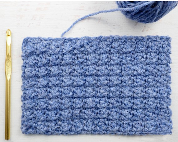 The Aligned Cobble Stitch - These 20 unique crochet stitches may challenge you or even confound you for a moment, but tackling them and mastering them will be gratifying. #crochetstitches #uniquecrochetstitches