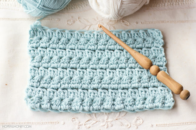 The Cluster Stitch - These 20 unique crochet stitches may challenge you or even confound you for a moment, but tackling them and mastering them will be gratifying. #crochetstitches #uniquecrochetstitches