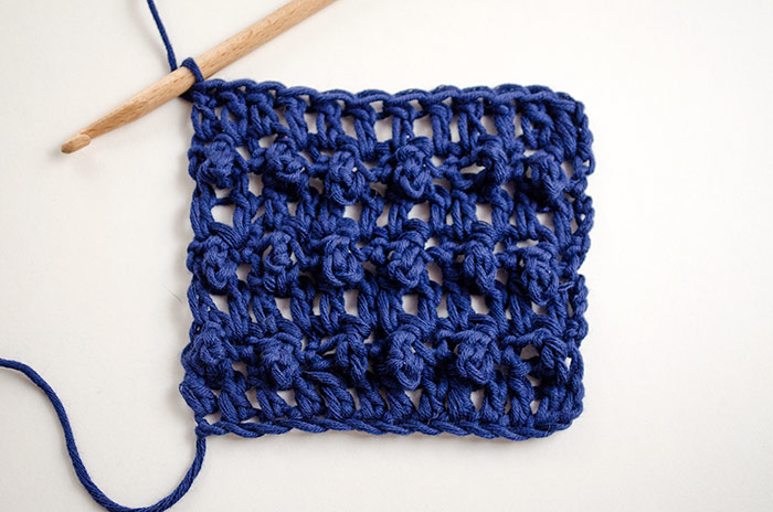 The Triple Crochet Loop  Stitch - These 20 unique crochet stitches may challenge you or even confound you for a moment, but tackling them and mastering them will be gratifying. #crochetstitches #uniquecrochetstitches