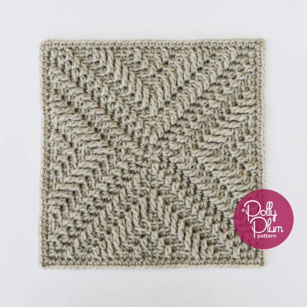 As Time Goes By Afghan Square - If you're thinking of starting a crochet blanket and want to give it that extra touch of 'oomph' - using any of these crochet squares might be the thing you need! #crochetsquares #afghansquares #crochetpatterns